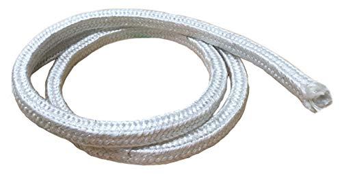 MinGlas Rope Seal - Fiberglass Square Braided Rope Gasket 1'' x 25 feet, Firm High-Density, Stove Boiler Furnace Oven Kiln Door Seal Gasket by MinGlas (Image #2)