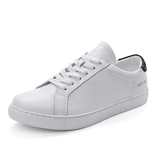 Student Flat Korean Shoes White Sneakers A Skate Leather Spring Leisure Shoes Women's Shoes Shoes White Shoes R8OnwqA