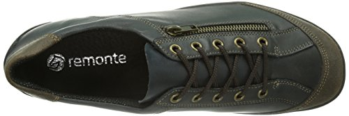 casual Azul para Pazifik Whisky Zapatos Liv R3421 Blau Dorndorf Remonte cuero Lake 33 de mujer w1qInHF