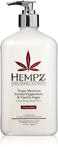 2016 Limited Edition Hempz Triple Moisture Frosted Peppermint and Vanilla 17oz
