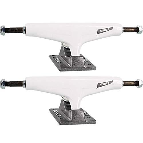 Tensor Trucks Zered Bassett All Terrain Aluminum White/Gunmetal Skateboard Trucks - 5.5