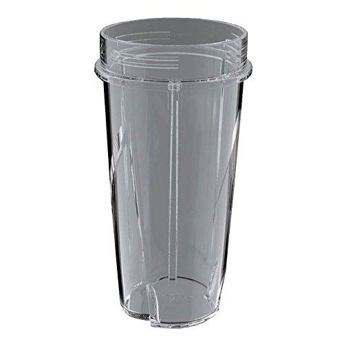 Ninja 16 Ounce Nutri Ninja Kitchen System Pulse Blender Replacement Cup (Ninja Single Pulse Blender)