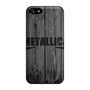 New Metallica Cases Covers, Anti-scratch Luoxunmobile333 Phone Cases For Iphone 5/5s