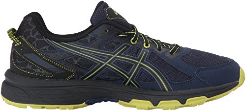 ASICS Mens Gel-Venture 6 Running Shoe, Indigo Blue/Black/Energy Green, 7 Medium US by ASICS (Image #7)