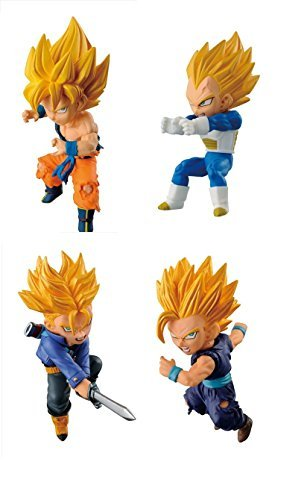 Most lottery World Collectible figures Dragon Ball Z Hen World Collectible figure four (D Award -G Award) ()