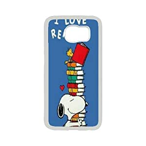 High Quality Phone Back Case Pattern Design 10Popular Cartoon Snoopy Series- For Samsung Galaxy S6