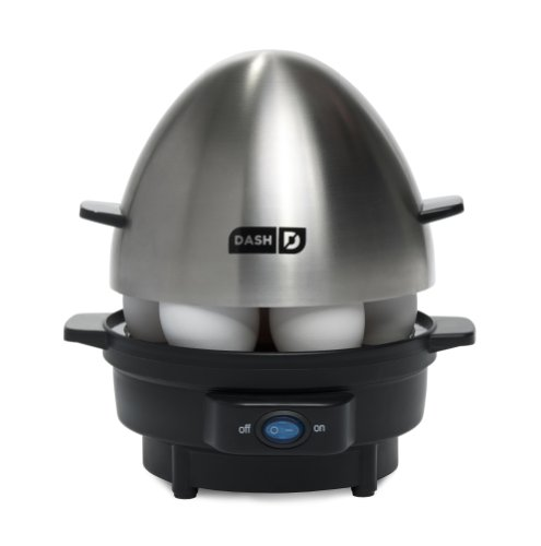 Dash Kitchen 7-Egg Rapid Egg Cooker, Black by Dash