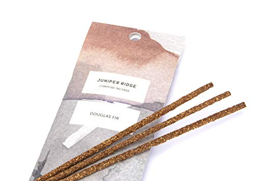 Juniper Ridge | Aromatic Douglas Fir Incense | All Bamboo Sticks | Long Lasting | No Synthetic Fragrance | All Natural Ingredients | 20 Count