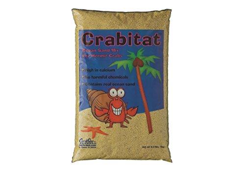 CaribSea Aquatics SCS00608 Crabitat Hermit Crab Sand, 2.2-Pound, Yellow by Carib Sea