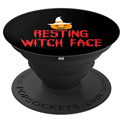 Halloween   Resting Witch Face Funny Pumpkin Witch