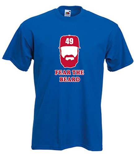 royal arrieta chicago fear the beard t shirt my beard shop the best beard care products. Black Bedroom Furniture Sets. Home Design Ideas