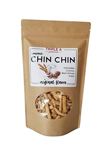 Sweet Crunchy West African Snack – CHIN CHIN (14 oz)