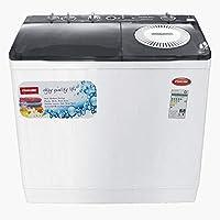 Nikai 18Kg Semi-Automatic Top Load Washing Machine, White - NWM1801SP, 1 Year Warranty