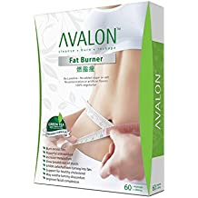 Avalon™ Fat Burner • Decaf Green Tea Weight Loss • Halal Certified, Vegetarian • 60 Veggie Capsules