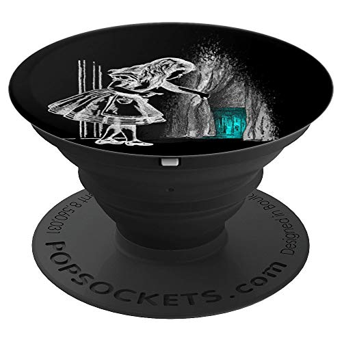 Follow The White Rabbit - Alice In Wonderland - PopSockets Grip and Stand for Phones and Tablets