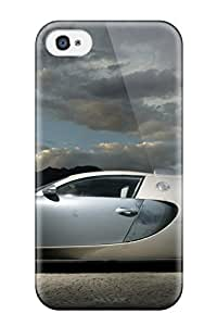 Slim Fit Tpu Protector Shock Absorbent Bumper Case For Iphone 4/4s