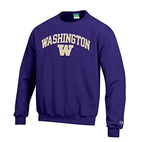 Washington Huskies Crewneck Sweatshirt Purple - M