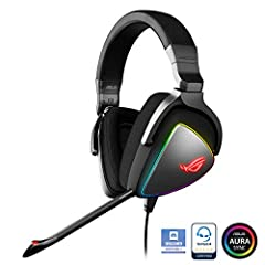 The ROG DELTA gaming headset delivers detail-rich audio with quad-dac signal isolation allowing greater sound quality for lows, mids, highs, and ultra-high frequencies. With 127Db Signal-to-Noise ratio you hear the competition every move whil...