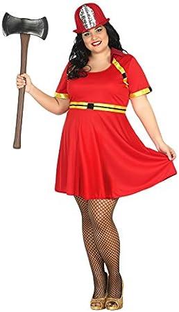 Atosa- Disfraz Mujer bombera, XL (15452): Amazon.es: Juguetes y juegos