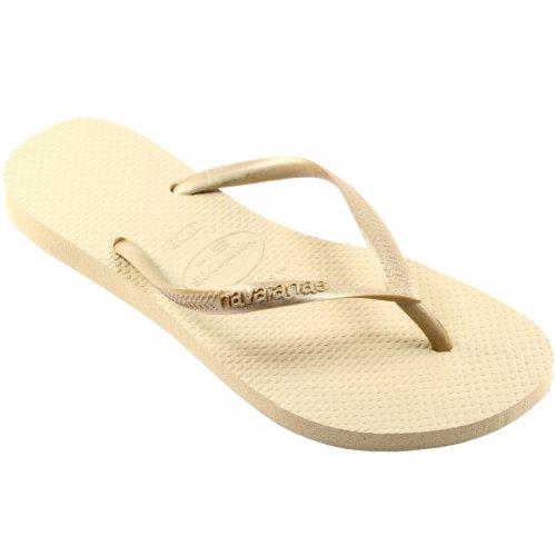 Havaianas Donna Slim Flip Flop Grigio Sabbia / Luce G