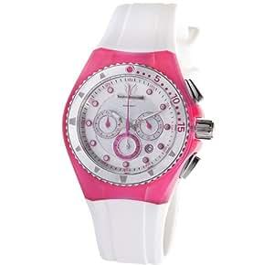 Technomarine 109012 - Reloj de mujer de cuarzo, correa de caucho color blanco
