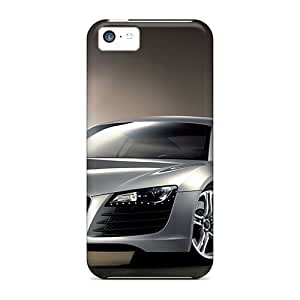 Shock Absorption Hard Phone Case For Iphone 5c (wNd6973TzvI) Customized Nice Audi R8 Pictures