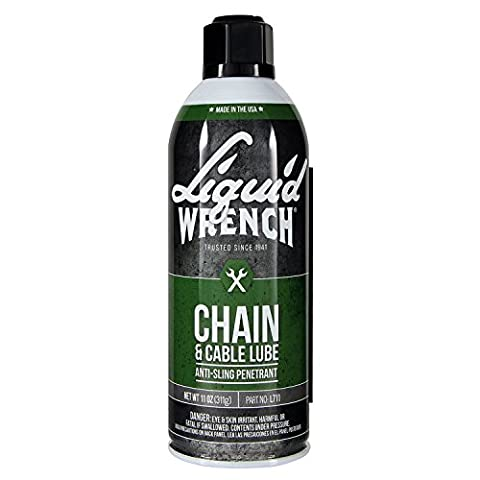 Liquid Wrench L711 Chain & Cable Lube - 11 oz. - Chain Link Wire