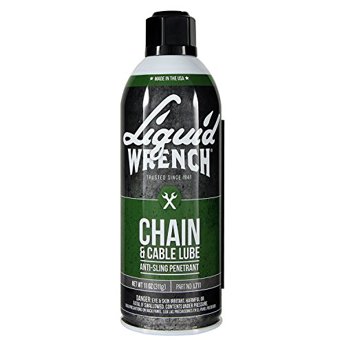 Lubricant Chain - Liquid Wrench L711 Chain & Cable Lube - 11 oz.