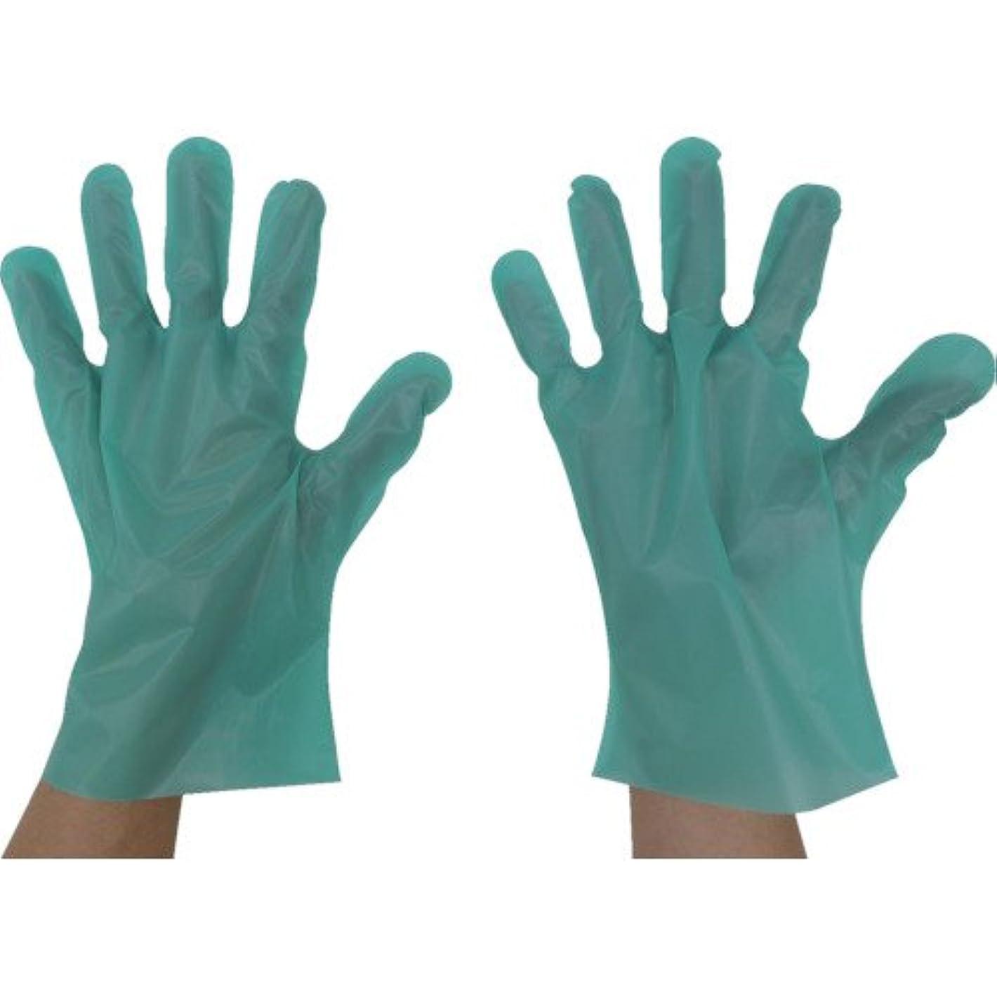 授業料グリーンバック注目すべき東京パック エンボス手袋五本絞りエコノミー化粧箱M グリーン GEK-M