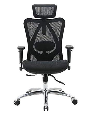 Kajaks Sihoo Ergonomischer Bürostuhl Schreibtischstuhl mit Verstellbare Kopfstützen ... Bootsport