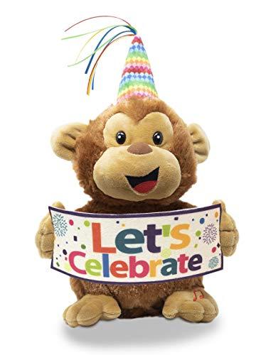 - Cuddle Barn 11 Plush Monkey Hooray Harry Dances with Celebrate Song