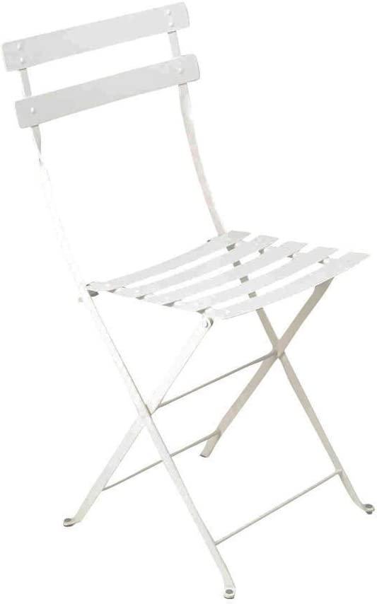 Silla plegable Bistro Fermob Color Blanco