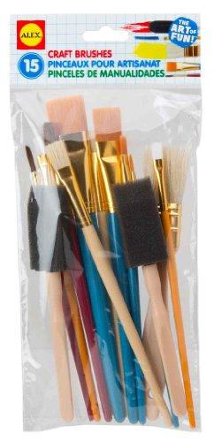ALEX Toys Artist Studio 15 Craft Brushes