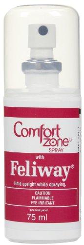 Comfort Zone 2X More Pheromones Formula Calming Diffuser Refills for Cat Calming | Multi Cat and Calming Formulas | 6 Pack Refills