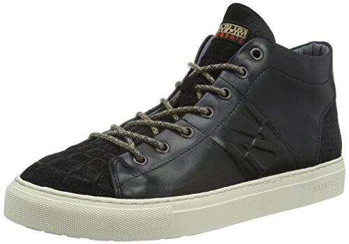 N00 de Haut Noir dessus Herren Schwarz Bever Chaussures Napapijri qYwxvn04t