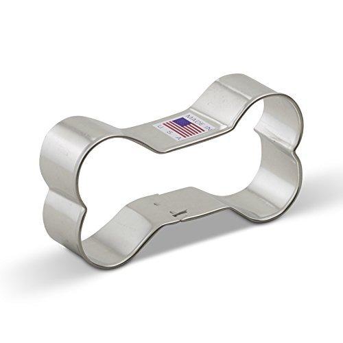 (Ann Clark Dog Bone Cookie Cutter - 3.75 Inches - Tin Plated Steel)