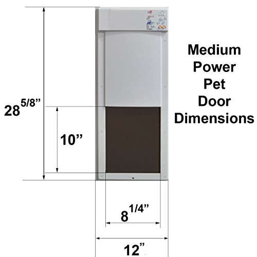 High Tech Pet Power Pet Medium Electronic Pet Door PX-1 by High Tech Pet (Image #2)