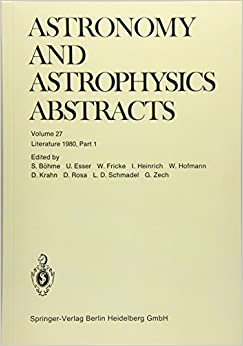 Literature 1980, Part 1 (Astronomy and Astrophysics Abstracts)