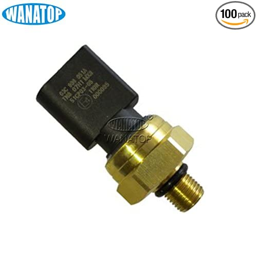 New Fuel Injection Pressure Sensor 03C906051A For Audi A8 Quattro Q7 VW Touareg