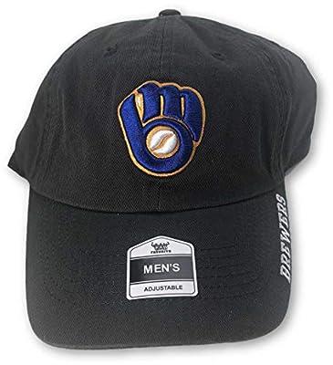 Fan Favorite Milwaukee Brewers Structured Adjustable Hat Navy