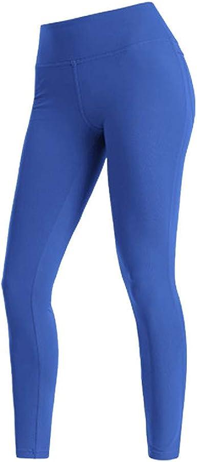 LANSKIRT_Pantalones Mujer Fitness Secado Rápido y Elásticos ...