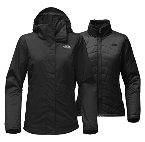 The North Face Women's Mossbud Swirl Triclimate Jacket - TNF Black - L by The North Face