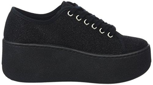 Adulte negro Baskets Noir Victoria Plataforma Mixte Brillo qnPZxfwv