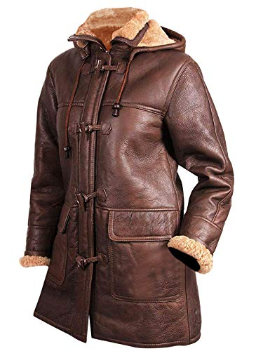 Buy womens shearling sheepskin coat