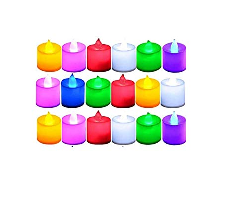 F&N Home Decor Battery Operated LED Light Candles for Diwali/Festival Gifting/Christmas Decoration/Diwali Lights for…