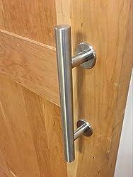 DIYHD Stainless Steel Sliding Barn Door Handle Wood door Closet Door pull