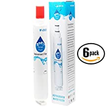 6-Pack Replacement 4396701 Refrigerator Water Filter for Whirlpool, Kenmore, Jenn-Air, KitchenAid - Compatible with Whirlpool 4396701, Kenmore 9915, Whirlpool ET1FHTXMQ01, Whirlpool ET1FHTXMQ04