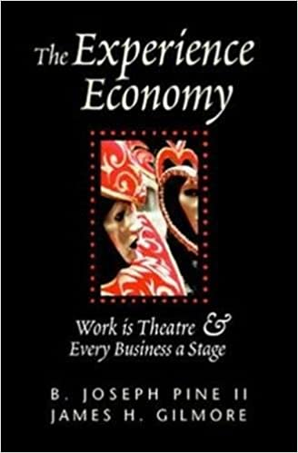 amazon the experience economy work is theater every business a