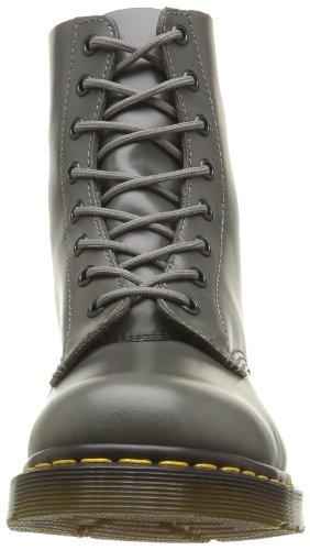 Dr. Martens Pascal, Botas Militares para Mujer Gris (Grey)