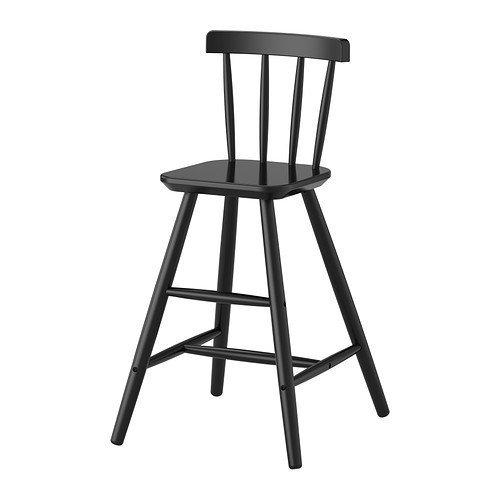 IKEA Junior Chair, Black 1626.171117.186 by IKEA